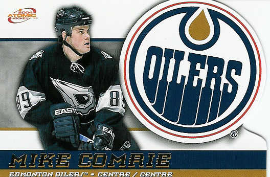 Mike Comrie hockey card