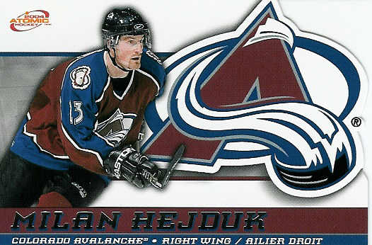 Milan Hejduk Hockey Card