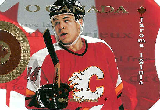 Jarome Iginla hockey cards