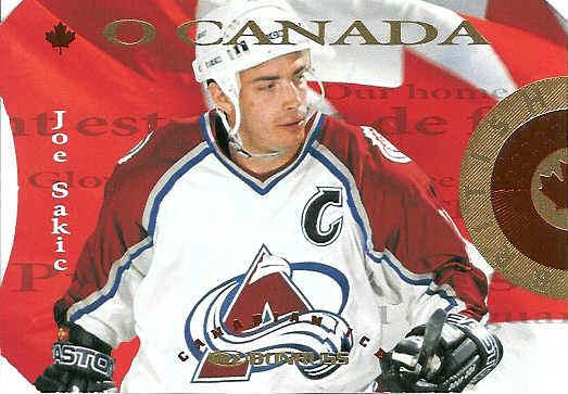 Joe Sakic Hockey Cards