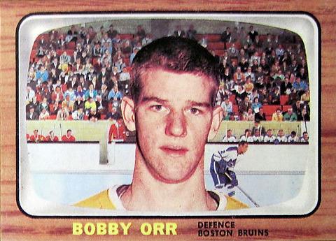 Orr Rookie Card reprint