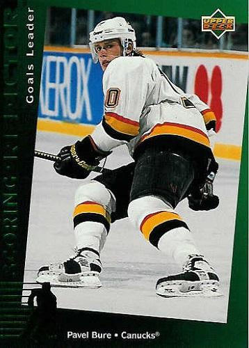 Pavel Bure Hockey Card