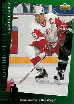Steve Yzerman Hockey Cards