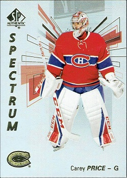 Carey Price 2016-17 SP Authentic Spectrum S-2