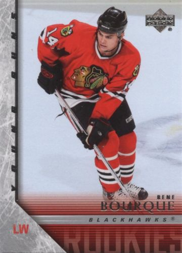 Rene Bourque Rookie Card