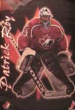 Patrick Roy Poster