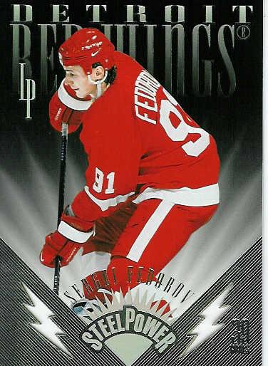 Sergei Fedorov Hockey Card