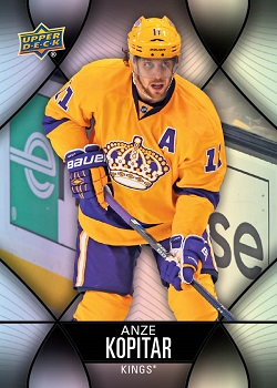 2016-17 Tim Horton's Hockey Cards Anze Kopitar
