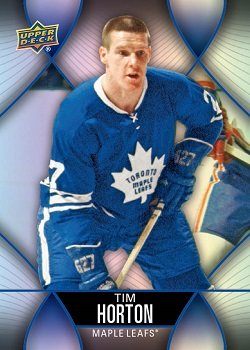 Tim Horton hockey card