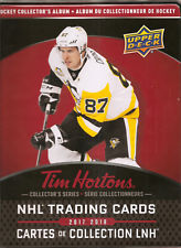2017-18 Tim Horton's Collection Album