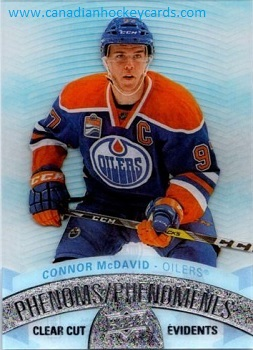 Connor McDavid 2107-18 Clear Cut Phenoms