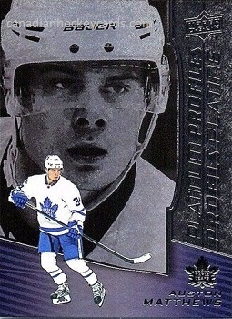 Auston Matthews Platinum Profiles