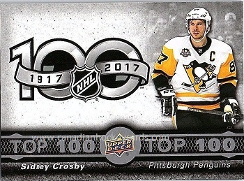 Sidney Crosby 2017-18 Tim Horton's Top 100