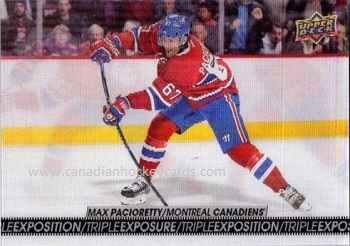 Max Pacioretty 2017-18 Tim Hortons Triple Exposition