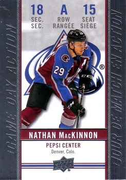 Nathan MacKinnon 2018-19 Tim Horton's Game Day Action