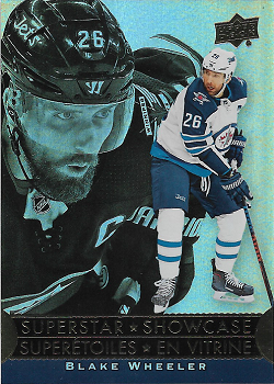 Blake Wheeler 2018-19 Tim Horton's SuperStar Showcase