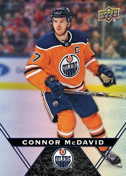 Connor McDavid 2018-19 Tim Hortons hockey card