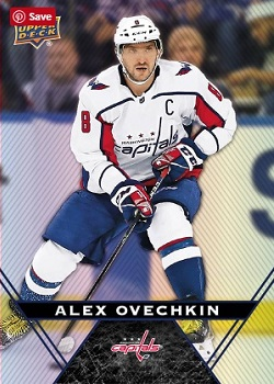 Alex Ovechkin 2018-19 Tim Hortons hockey card