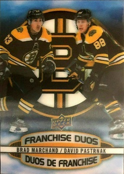 2019-20 Tim Hortons Franchise Duos Marchand Pastrnak