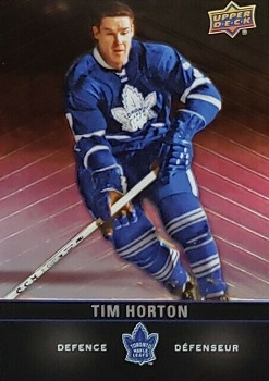 Tim Horton 2019-20 hockey card