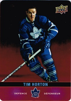 Tim Hortons Die Cut DC SP1 hockey card