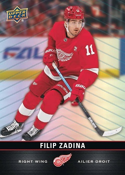 Filip Zadina 2019-20 Tim Hortons Upper Deck RC