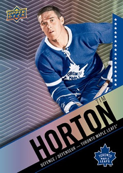 Tim Horton's 2015-16 Hockey Card