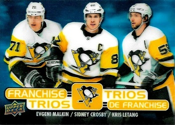 2020-21 Tim Horton's Franchise Trios Pittsbugh