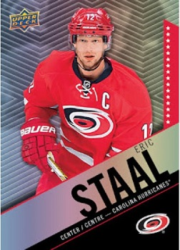 Eric Staal Tim Horton's hockey card