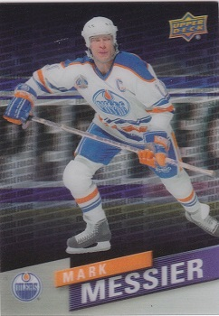 Mark Messier Tim Horton's Franchise Force Hockey Card