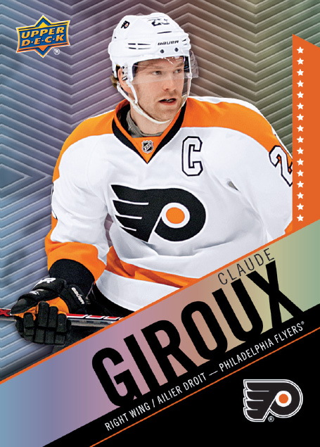 Claude Giroux 2015-16 Tim Horton's Hockey Card