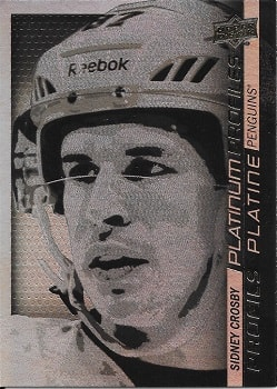 Sidney Crosby Tim Hortons hockey card