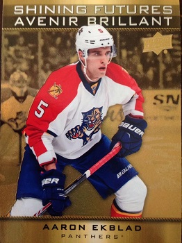 Aaron Ekblad Tim Horton's Shining Futures Hockey Card