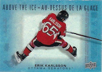 Erik Karlsson Tim Horton's Hockey Card