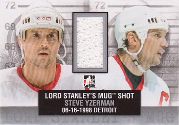 2013-14 ITG Lord Stanley's Mug Shot with Yzerman and Shanahan