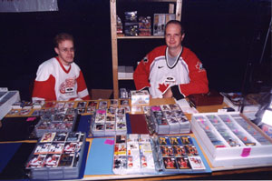 Canadian Hockey Cards at the card show